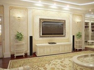 Класичний стиль в дизайні квартири
