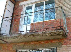 Как усилить прочность балконной плиты?