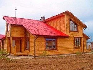 Блок - хаус для отделки стен фасадов