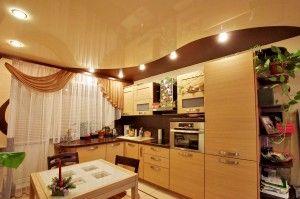 Стелі в кухні