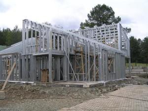 Быстрое строительство из легких стальных тонкостенных конструкций