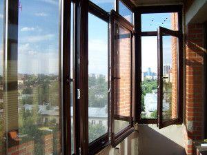 Вікна в місті Фрязіно