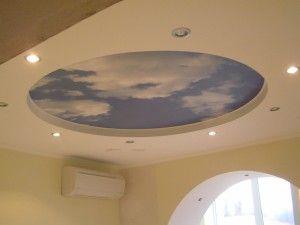 Самостоятельное сооружение потолка