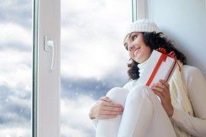 Почему стоит установить пластиковые окна зимой