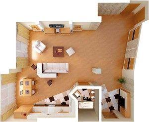 Как хорошо обустроить свою квартиру, несколько советов