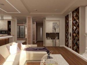 Несколько способов зрительно увеличить комнату
