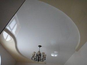Натяжна стеля: біла класика або веселка на дому?