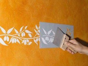 Трафарет на стінах: кілька ідей та основні правила роботи