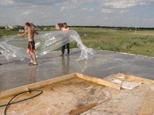 Технология работы с бетоном