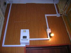 Как сделать разводку электричества