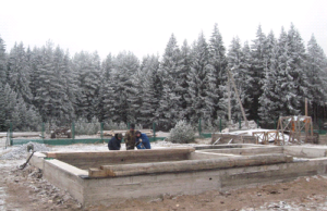 Монтажні роботи в зимових умовах