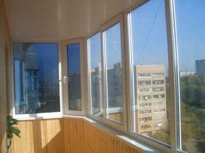 Скління балкона і лоджії