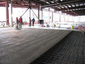 Пристрій бетонної стяжки