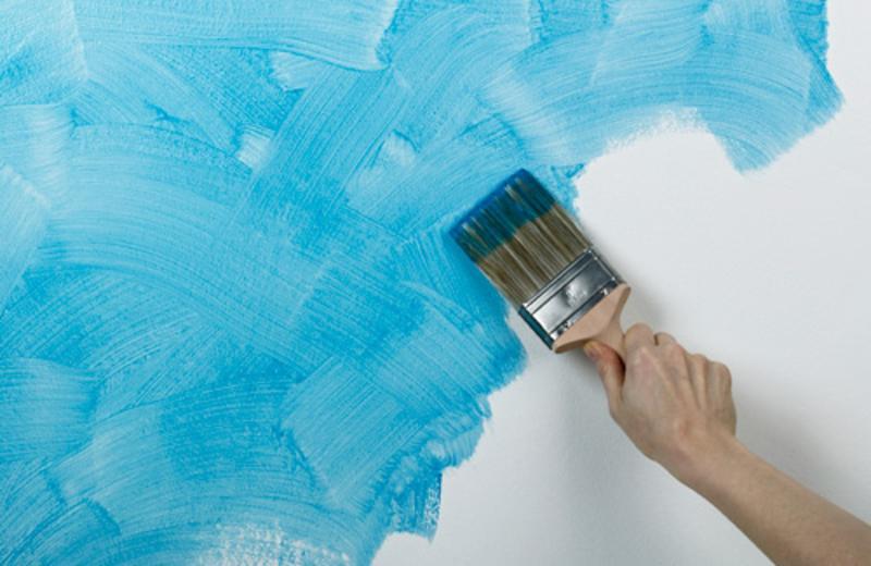 Как правильно покрасить стены в ванной комнате своими руками 54