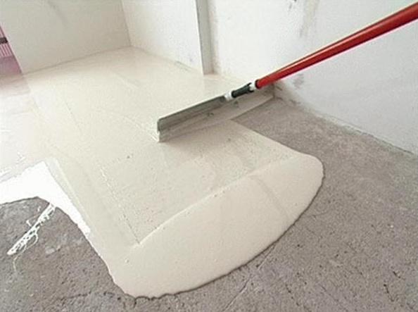 Наливные полы по бетонной стяжке битумная изоляция пола наливной пол