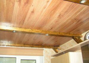 Стеля в дерев'яному будинку