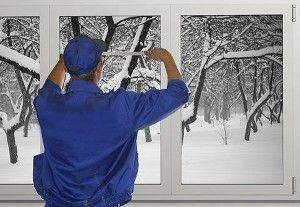 Монтаж пластиковых окон зимой возможен