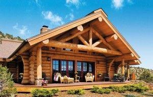Срубы ручной работы – дом с ароматом леса