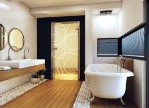 Якими повинні бути двері для ванної та туалету