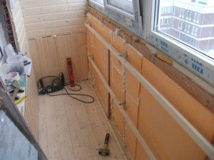 Как утеплить балкон