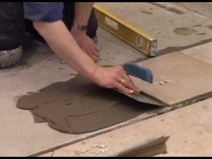 Как сделать своими руками пол из керамогранита
