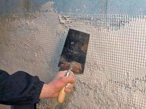 Технологія облицювання поверхні штукатуркою