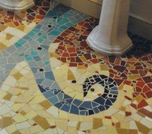 Мозаїчна плитка для ванної своїми силами