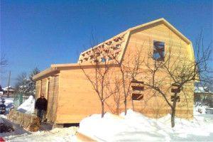 Будинок з бруса і специфіка його побудови