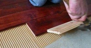 Як вибрати клей для підлоги