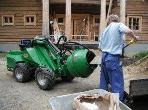 Правила работы бетоносмесителей