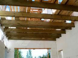 Устройство деревянного балочного перекрытия