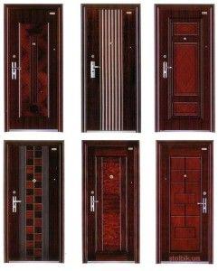 Коротко о входных дверях