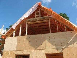 Как строят крышу: этапы