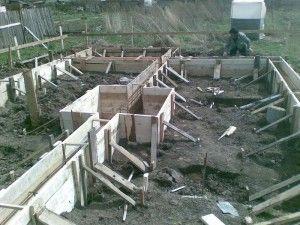 Фундамент для двоповерхового будинку