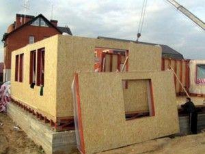 Технология возведения дома из СИП-панелей