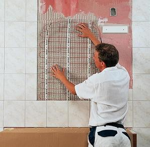 Облицювання підлоги та стін кахелем
