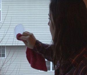 Удаление царапины со стекла
