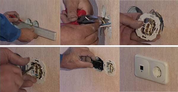 Как поставить розетки своими руками