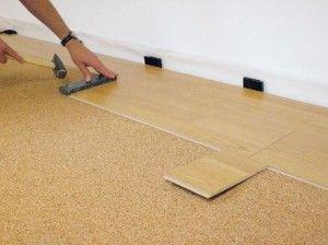 Укладання ламінату на нерівна підлога