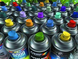 Аерозольні фарби для ремонтних робіт