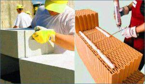 Особенности применения клеевых и теплосберегающих растворов