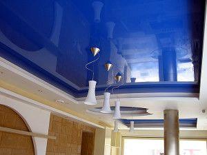 Натяжные потолки и их особенности