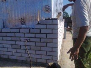 Особенности стен из силикатного материала