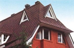 Скатний дах і її види