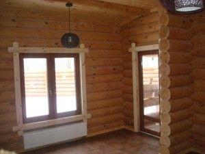 Правила установки вікон в дерев'яних будинках