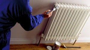 Як пофарбувати радіатор