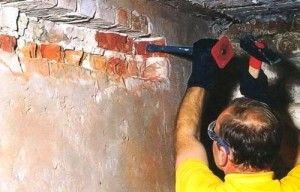 Як зробити отвір в несучій стіні