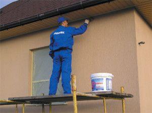 Як пофарбувати фасад будинку?