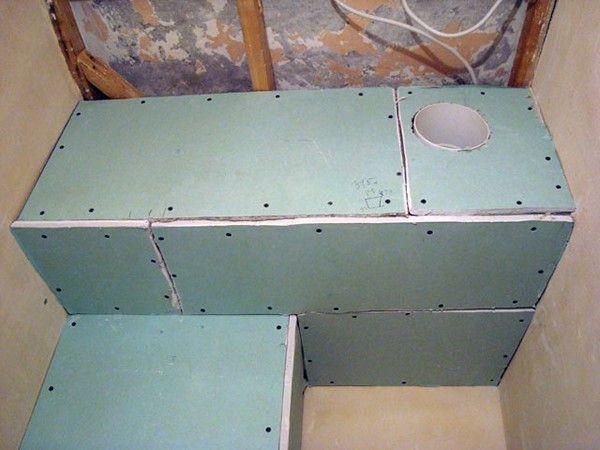 Как сделать короб чтобы закрыть трубы в туалете