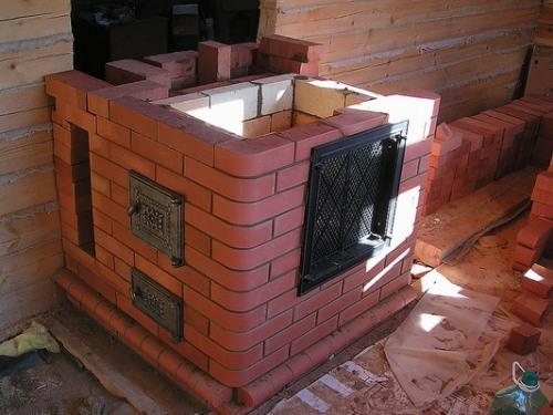 Как построить печку из кирпича своими руками фото 81